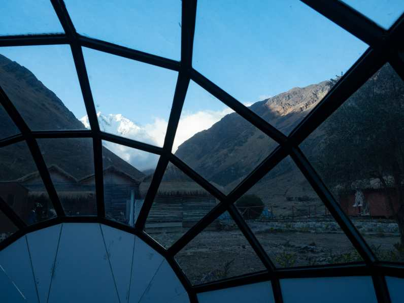 A clear morning from our Sky Domes