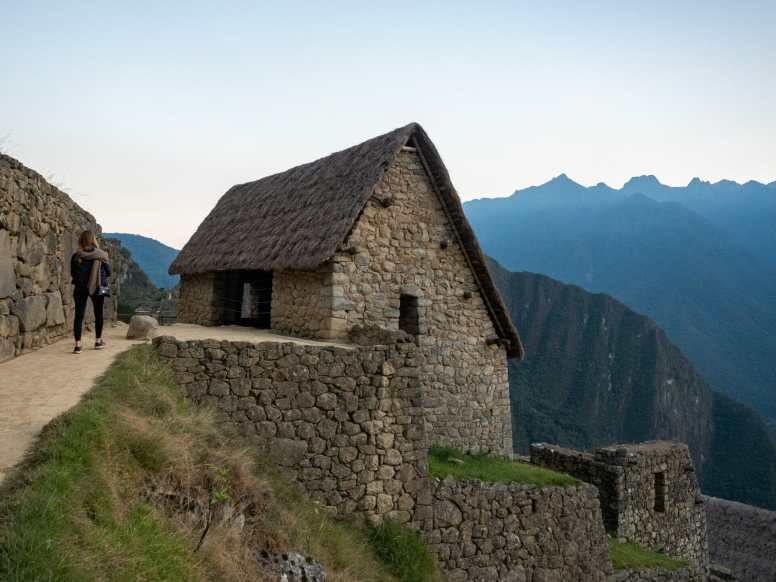 The Guardhouse at Machu Picchu