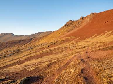 Mars landscape on the Ausangate/Vinicunca trek