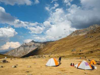 Huayhuash Camp
