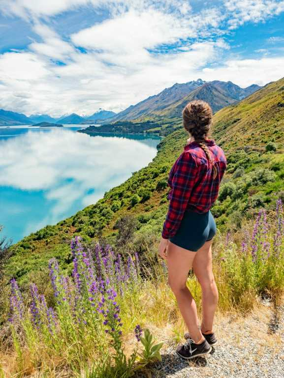 Pig & Pigeon Islands Viewpoint in Glenorchy