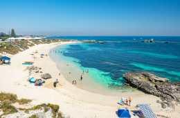 Pinky Beach Rottnest Island Perth Western Australia