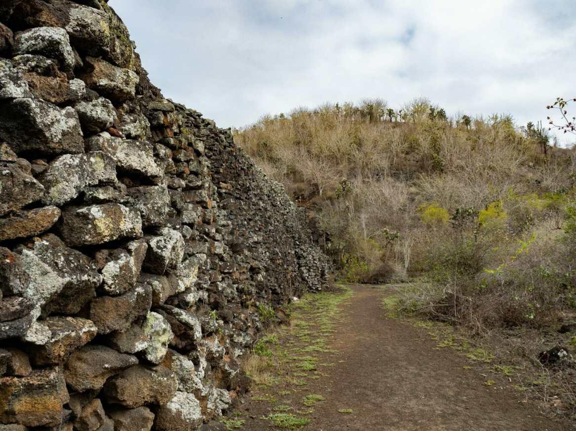 Stone Wall of Tears Isla Isabela