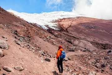 Cotopaxi Glacier