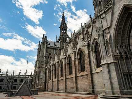 Basílica del Voto Nacional church in Quito