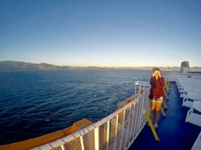 Interislander Ferry from Wellington to Picton