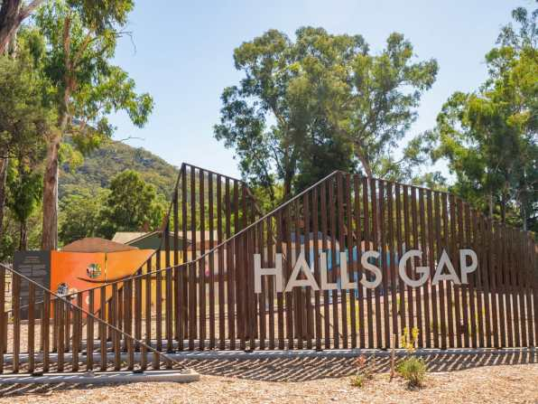 Halls Gap town