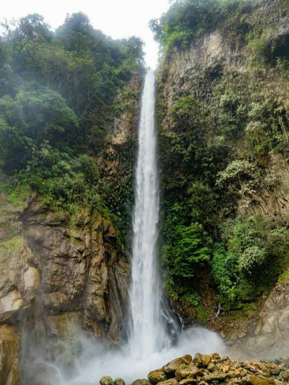 Cascada Machay waterfall Baños