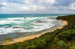 Great Ocean Walk hike Australia Cape Otway beach
