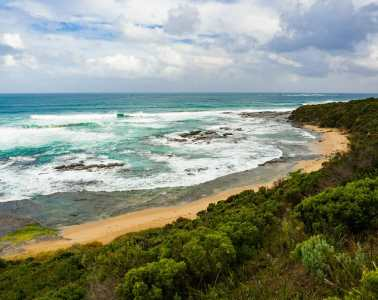 Great Ocean Walk hike Australia Cape Otway beach