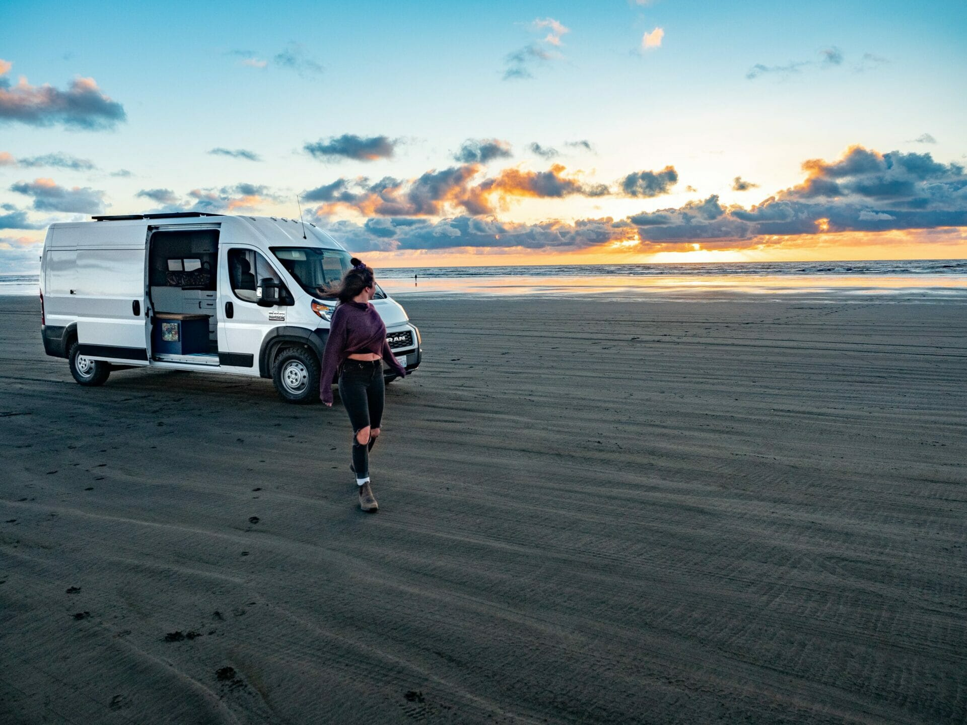 Long Beach Washington Coast vanlife diaries