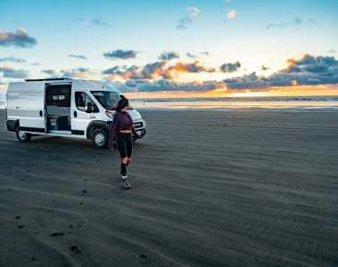 Long Beach Washington Coast vanlife diaries