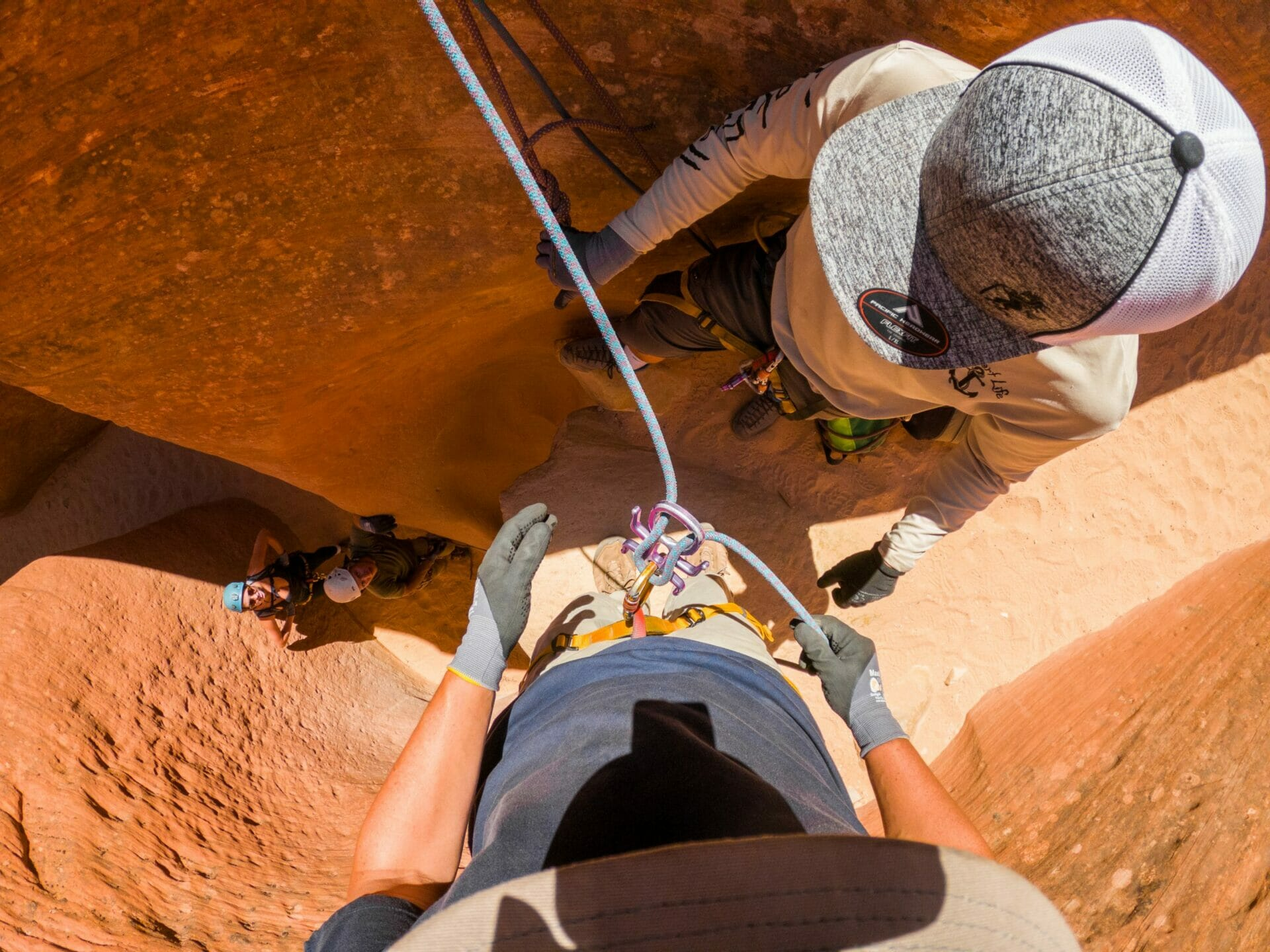 Canyoneering tour East Zion Experiences Utah Ladder Canyon