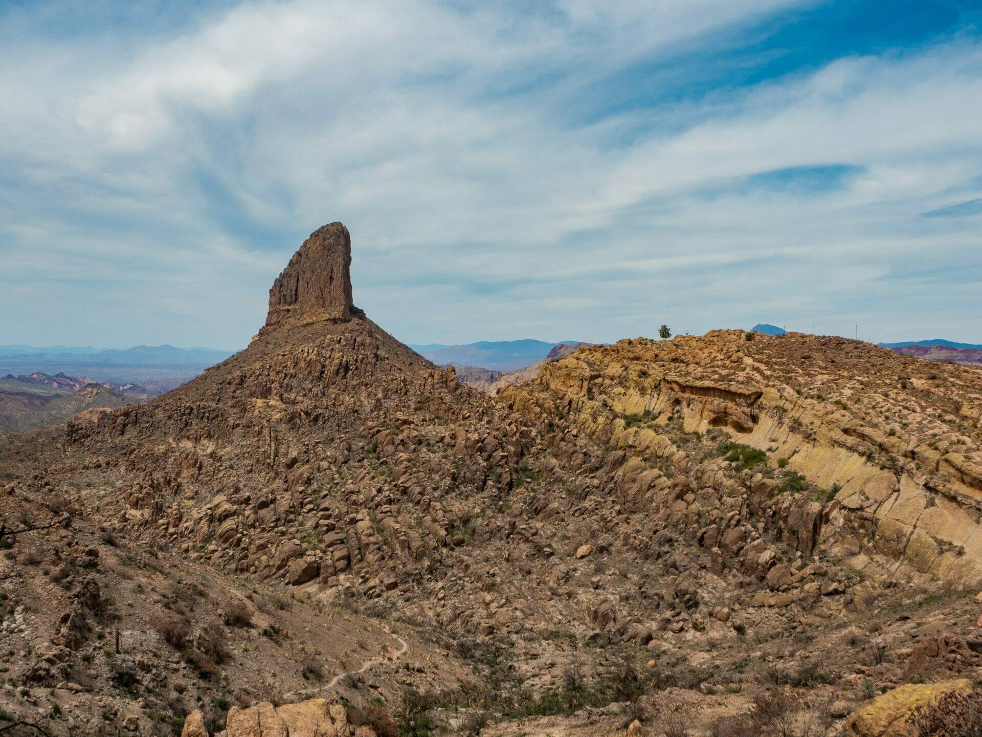Superstition Mountains Phoenix Arizona Flat Iron Weever's Needle peralta Canyon