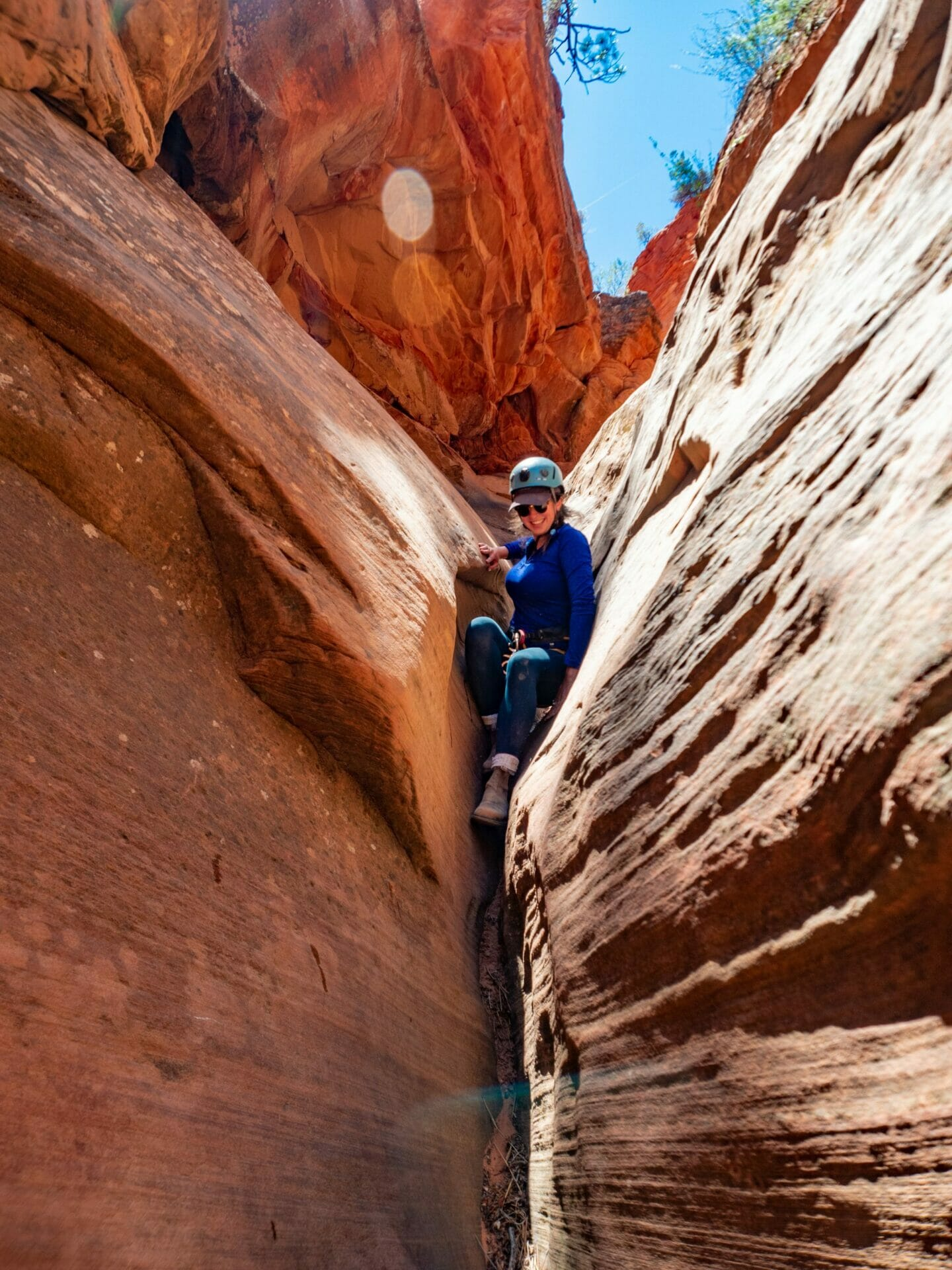 Canyoneering tour Rock Canyon East Zion Experiences