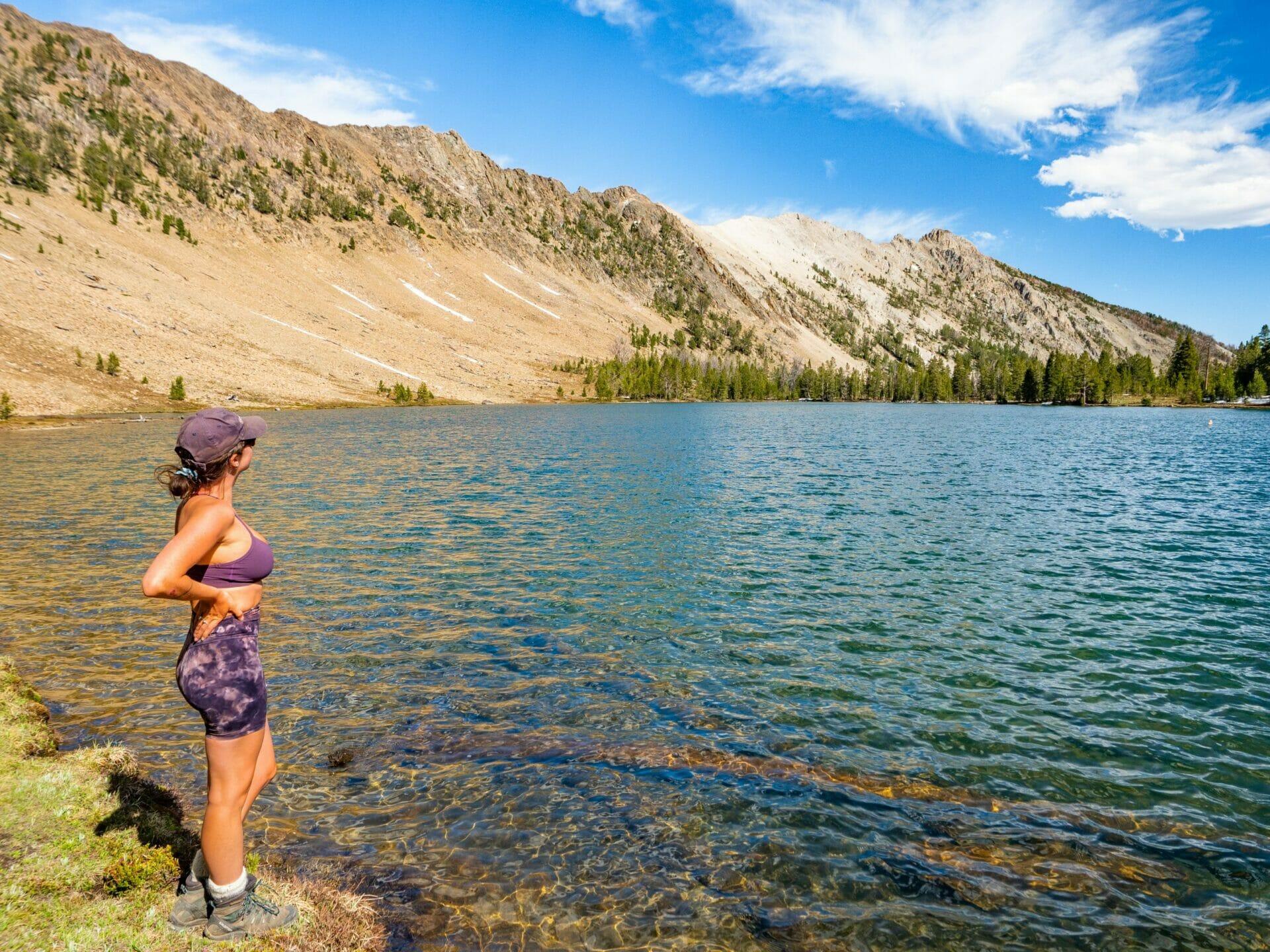 Stanley Idaho Sawtooth Mountains best hikes Washington Lake