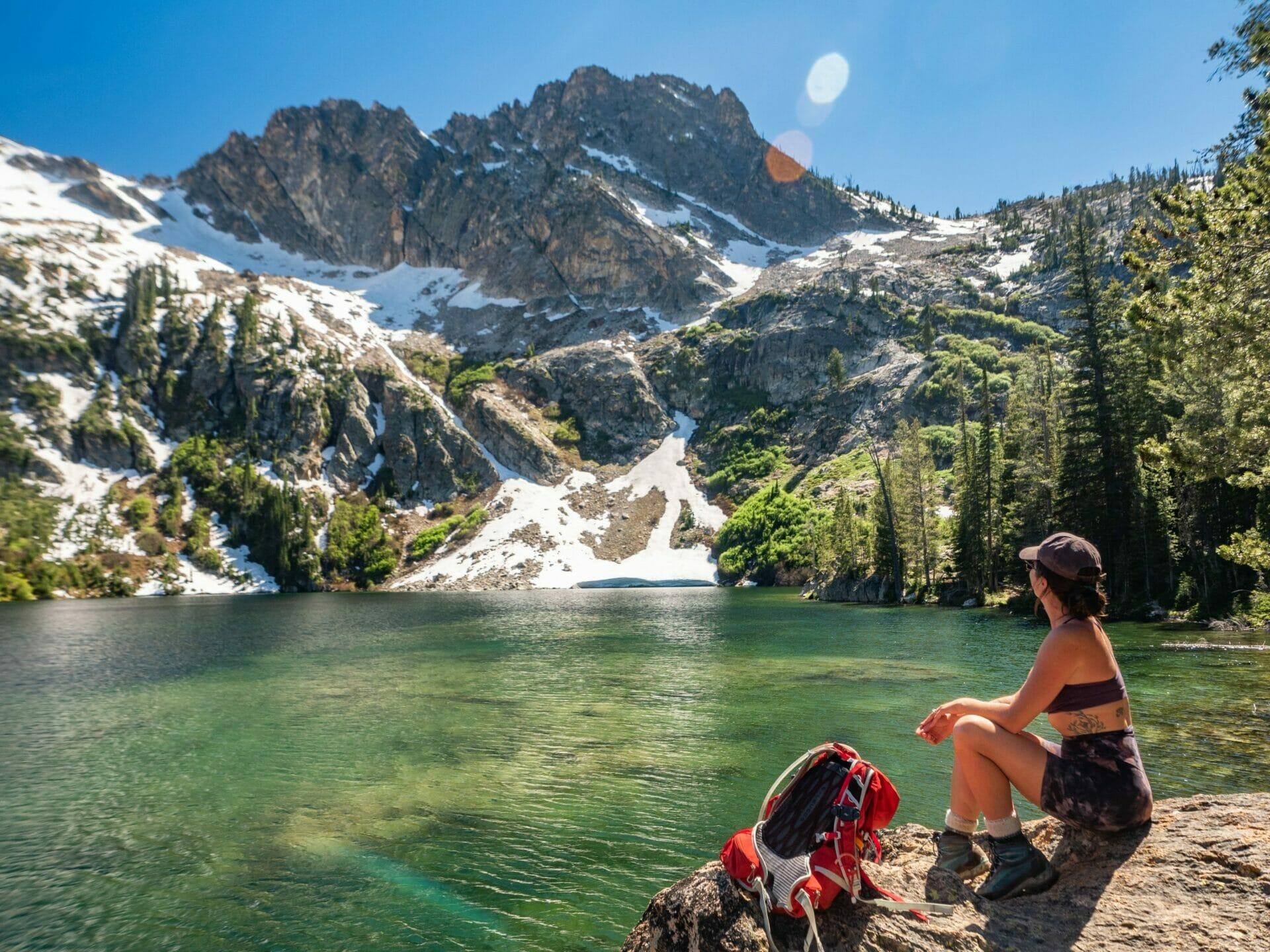 Alpine Lake Sawtooth Lake best hikes