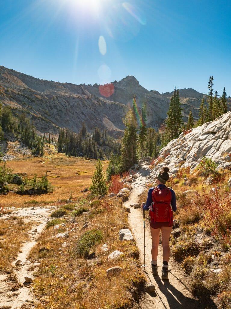 Eagle Cap Wilderness Wallowas hiking Mirror Lake