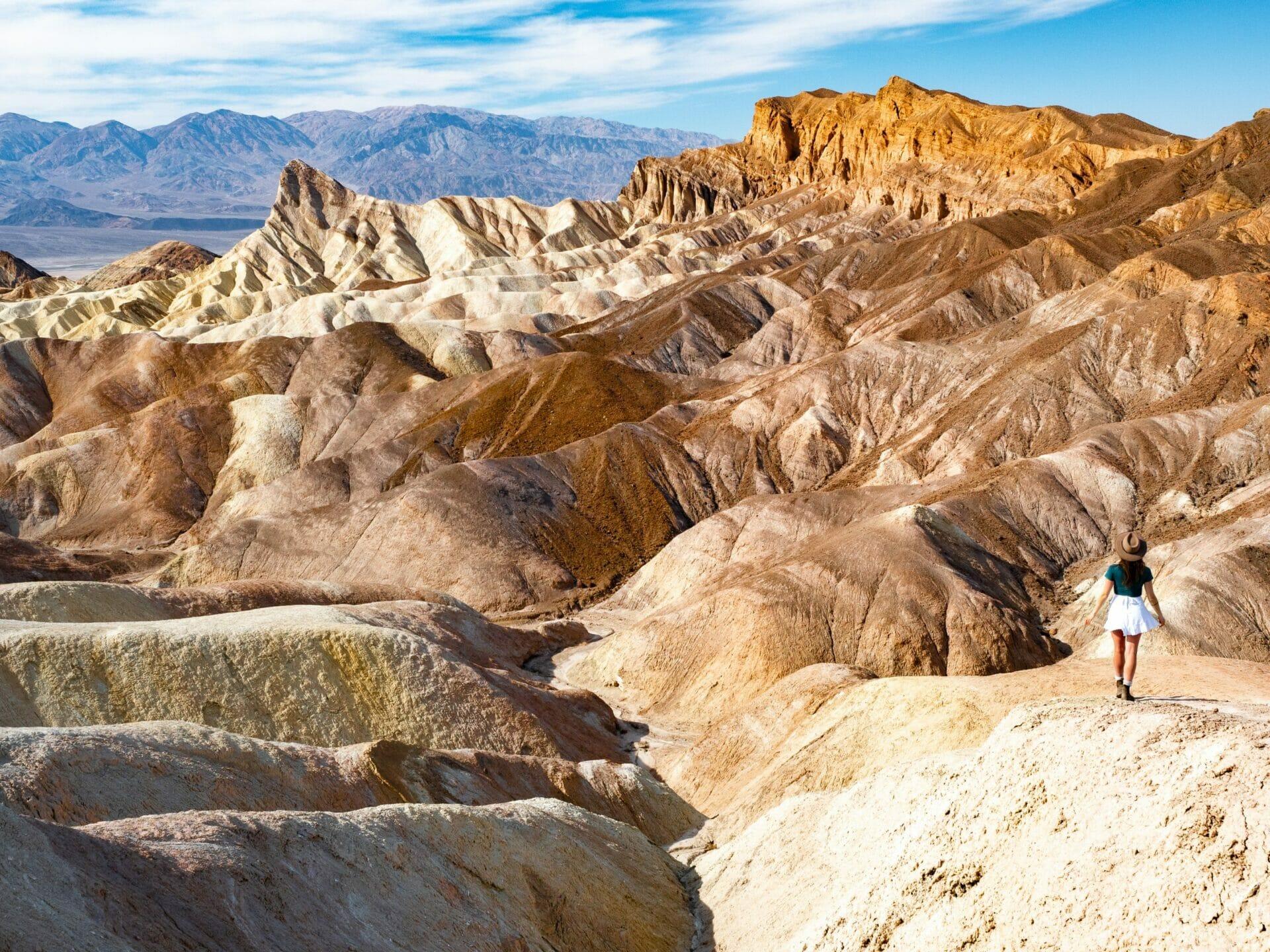 Zabriskie Point Death Valley National Park 1-day itinerary