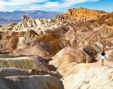Zabriskie Point Death Valley National Park 1-day itinerary