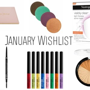 January 2018 Beauty Wishlist - www.brookeclarke.com