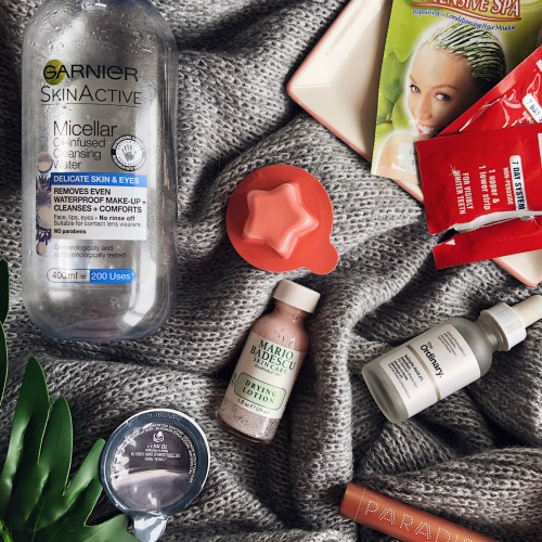 April 2018 empties cover image