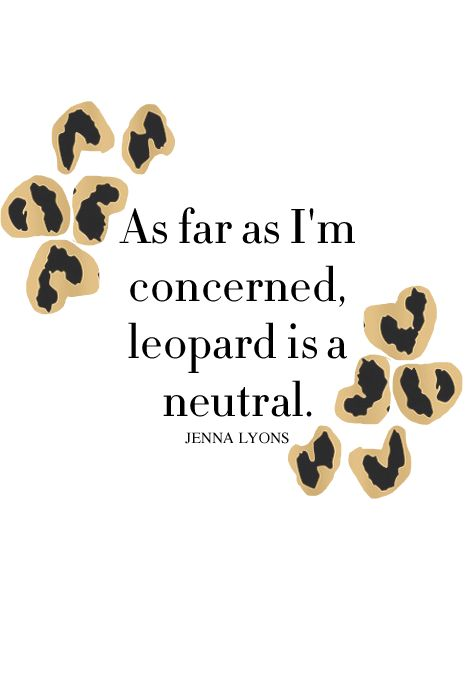 Leopard Print Fashion Pieces To Wear This SS18