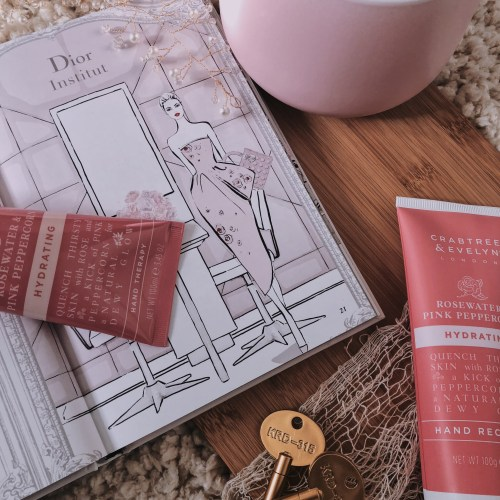 Crabtree & Evelyn Hydrating Rosewater & Pink Peppercorn Hand Care