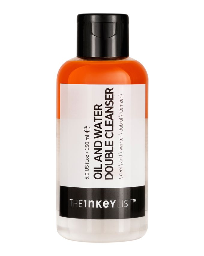 The Inkey List Guide Oil & Water Double Cleanser