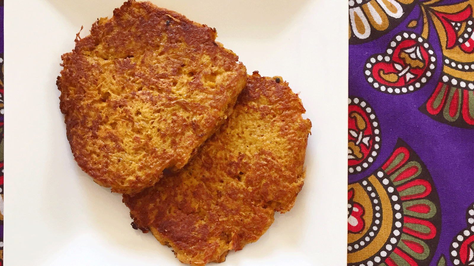 Recipe: Sweet Potato Rosti