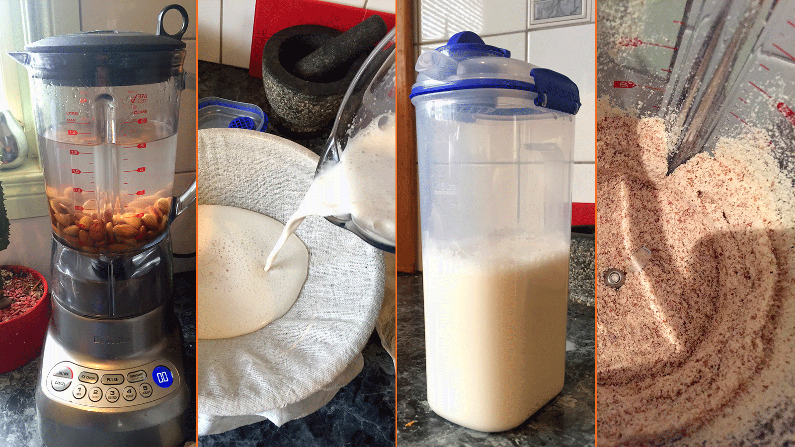 Recipe: Almond Milk & Almond Meal