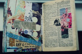earth collage art journal brooke gibbons