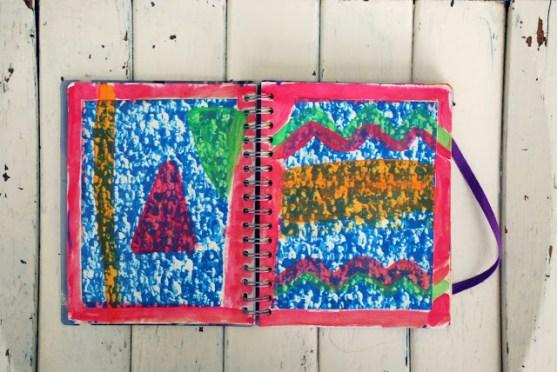 paint book 1 art journal brooke gibbons