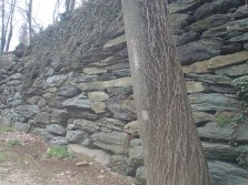 2z Stone walls at Harpers Ferry