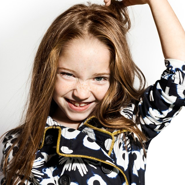 Burberry Childrenswear SS16 Campaign