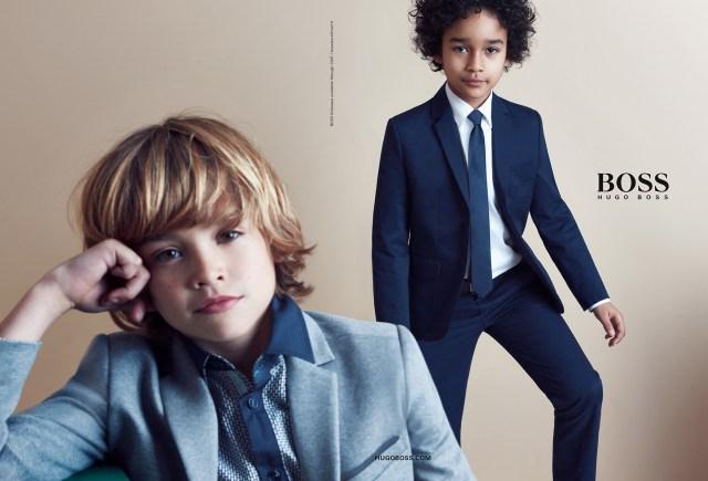 Hugo Boss Kids AW17 Campaign