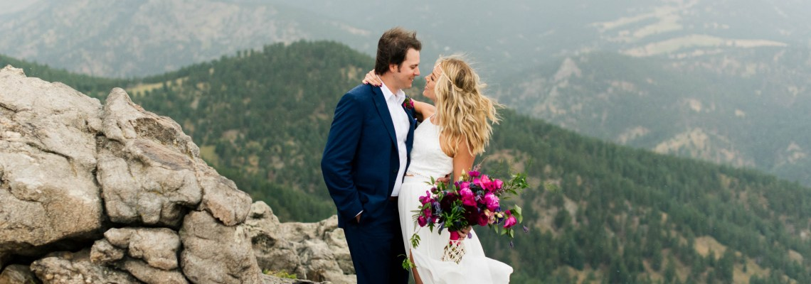 Boulder, CO Bohemian Wedding Makeup