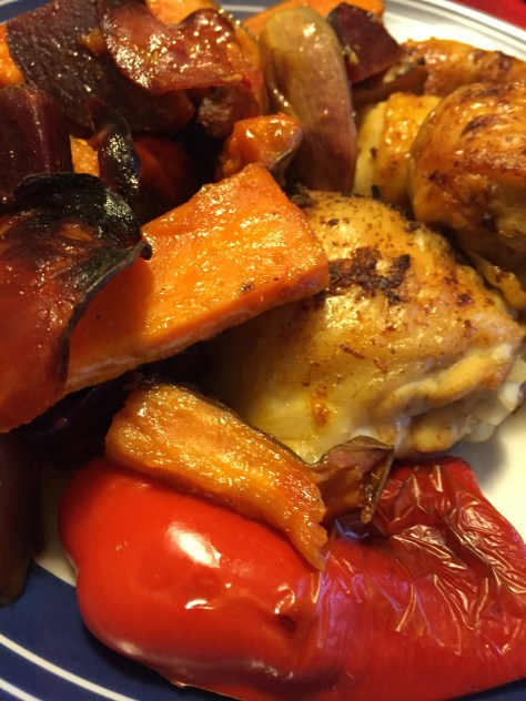 Easy Paprika Chicken Traybake
