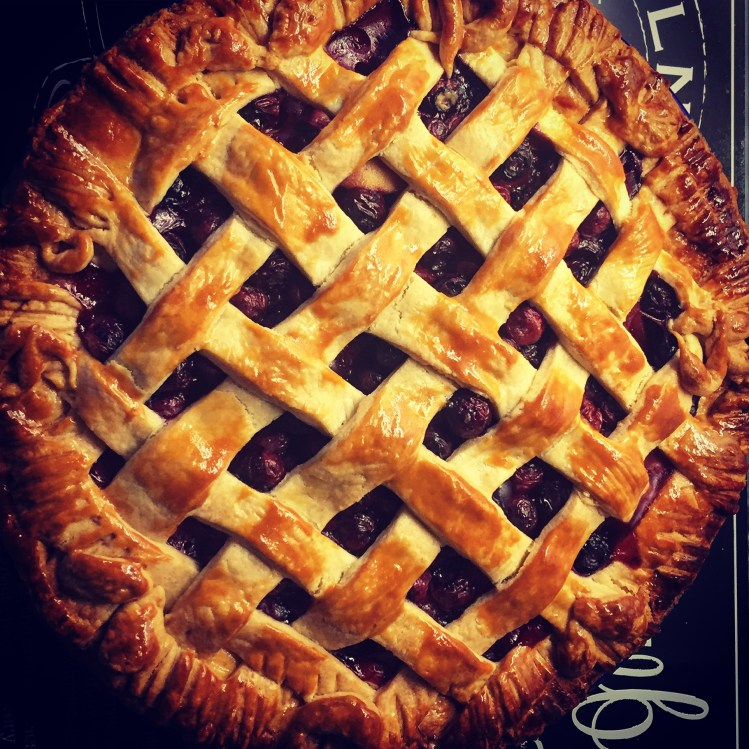Apple and Blueberry Pie