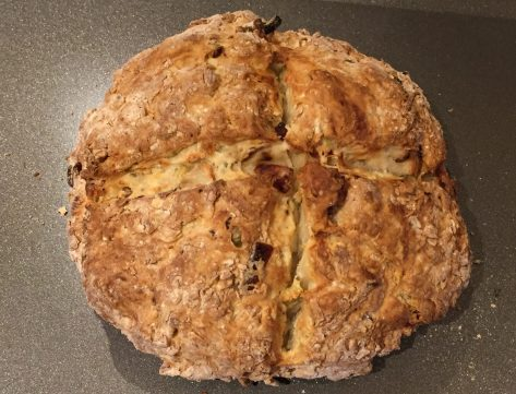 Bacon and Onion Soda Bread