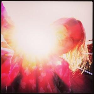 love shining through