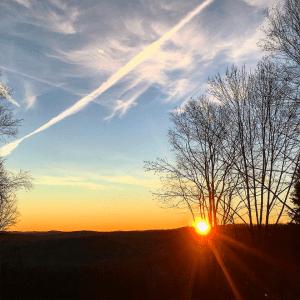 Sunrise Upstate New York
