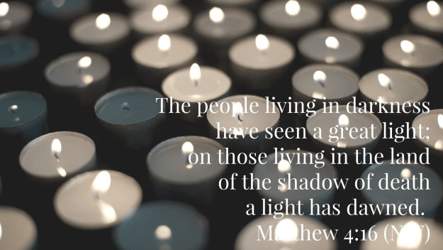 Matthew 4:16, votives