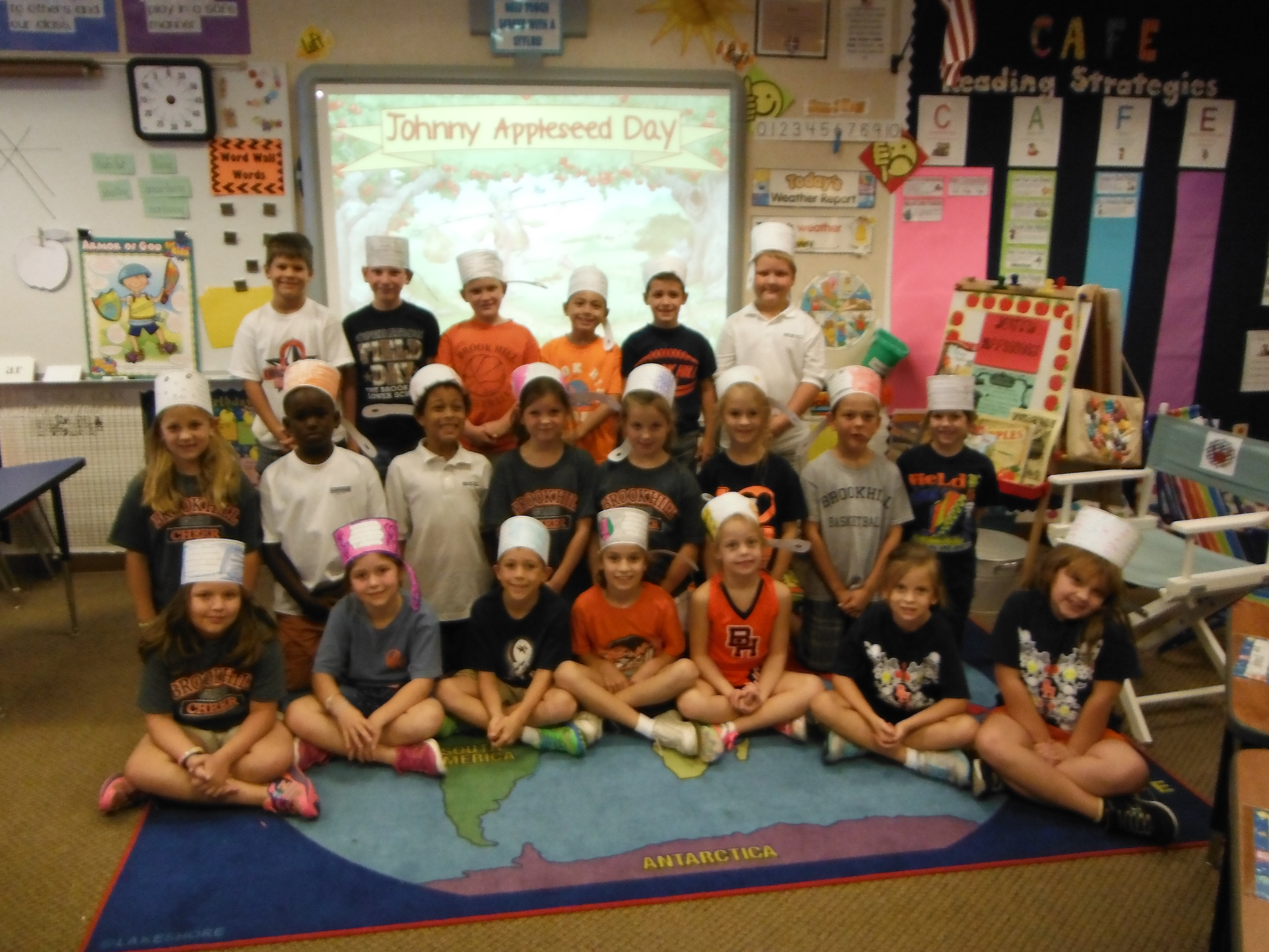 Johnny Appleseed Day In Second Grade