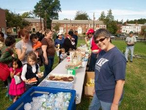 Caroline Petti at Brookland Day picnic