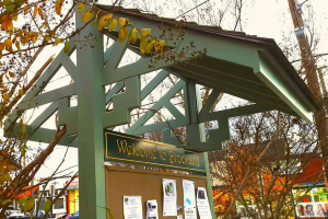 Community Kiosk at 12th and Newton Streets