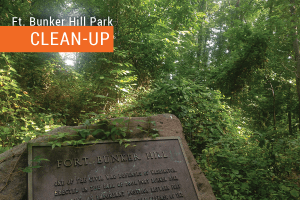 Fort Bunker Hill Park Clean-up