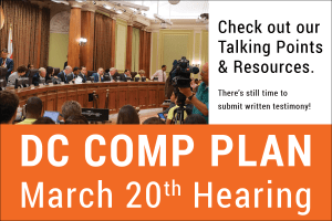 DC Comp Plan March 20th Hearing