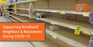 Supporting Brookland Neighbors and Businesses During COVID-19