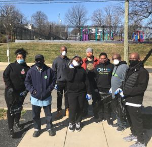 Brookland Neighborhood Clean-up, March 2021